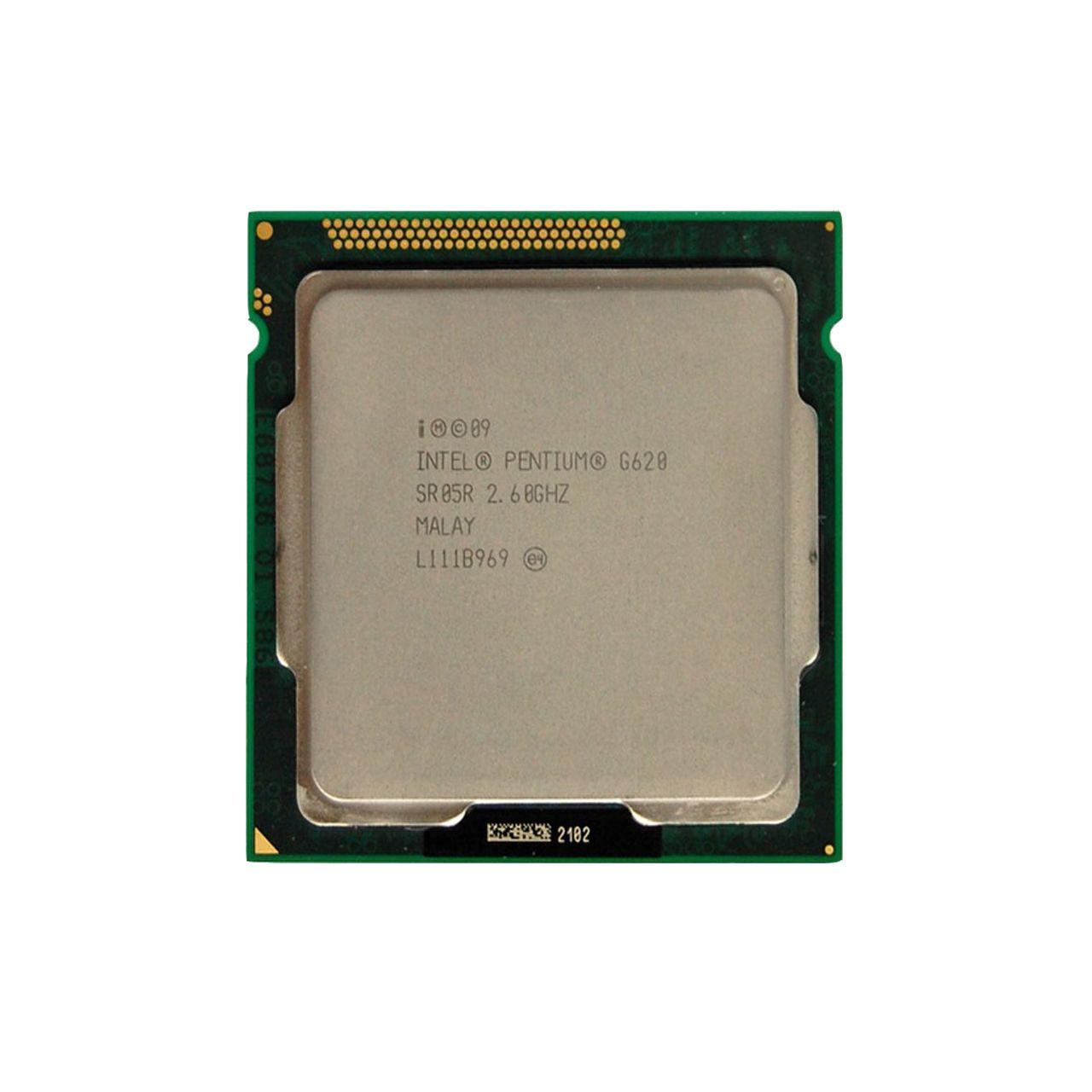 پردازنده مرکزی اینتل سری pentium مدل G620