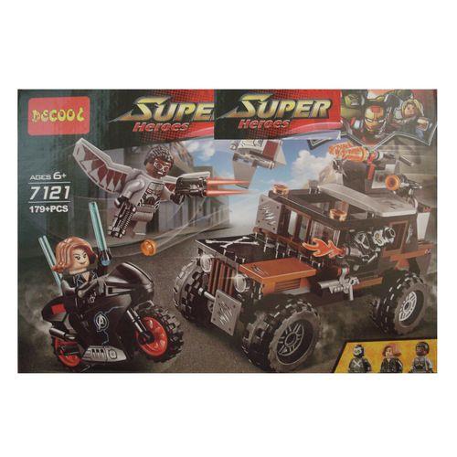 ساختني دكول سري super heroes مدل 7121