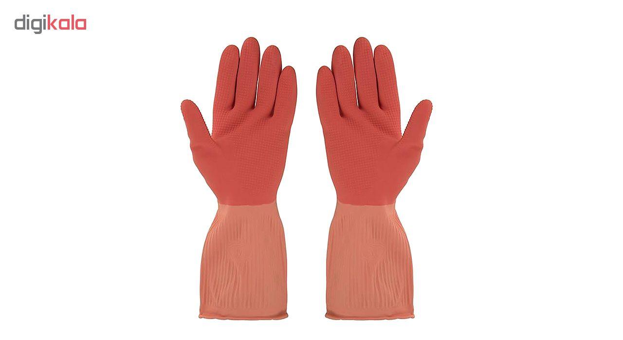 دستکش آشپزخانه ویولت مدل ساق کوتاه سایز بزرگ کد02  main 1 4