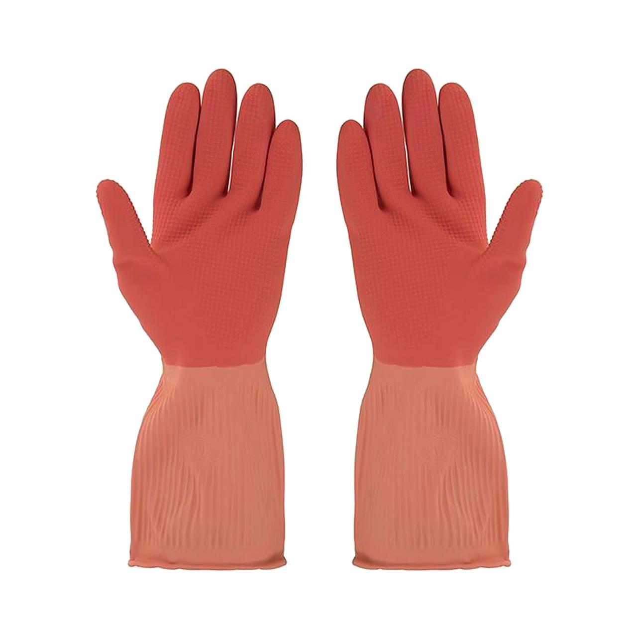 دستکش آشپزخانه ویولت مدل ساق کوتاه سایز متوسط کد02