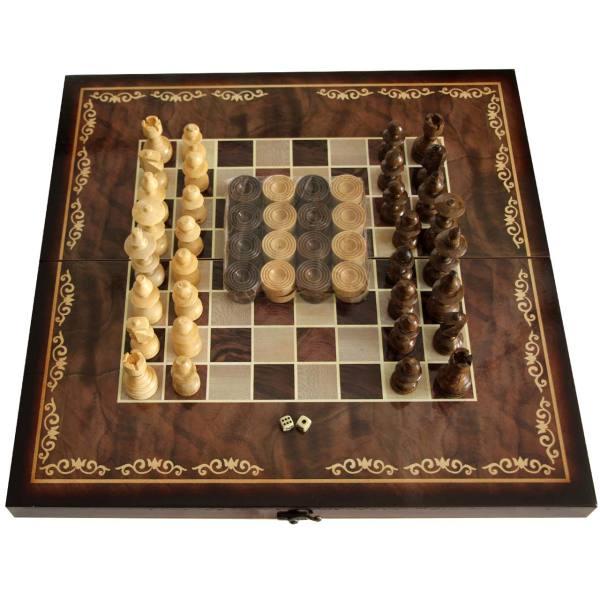 صفحه شطرنج و تخته نرد مدل شاهکار Az150