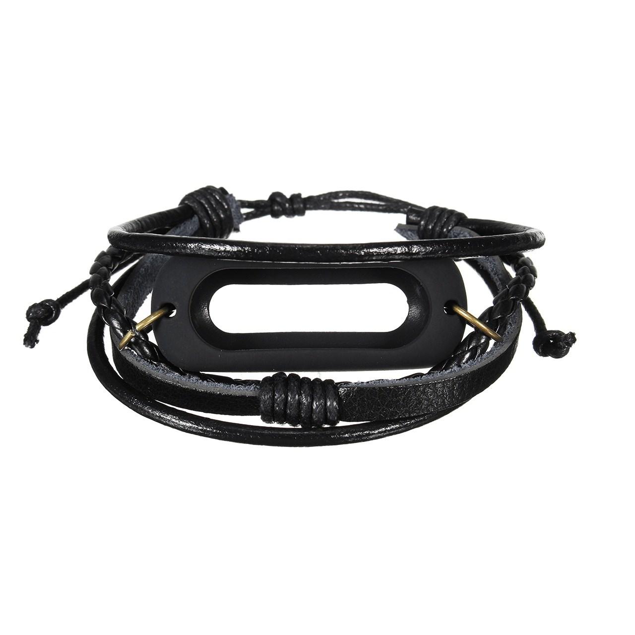 بند چرمی مدل Fantasy مناسب برای ساعت هوشمند Mi Band 2
