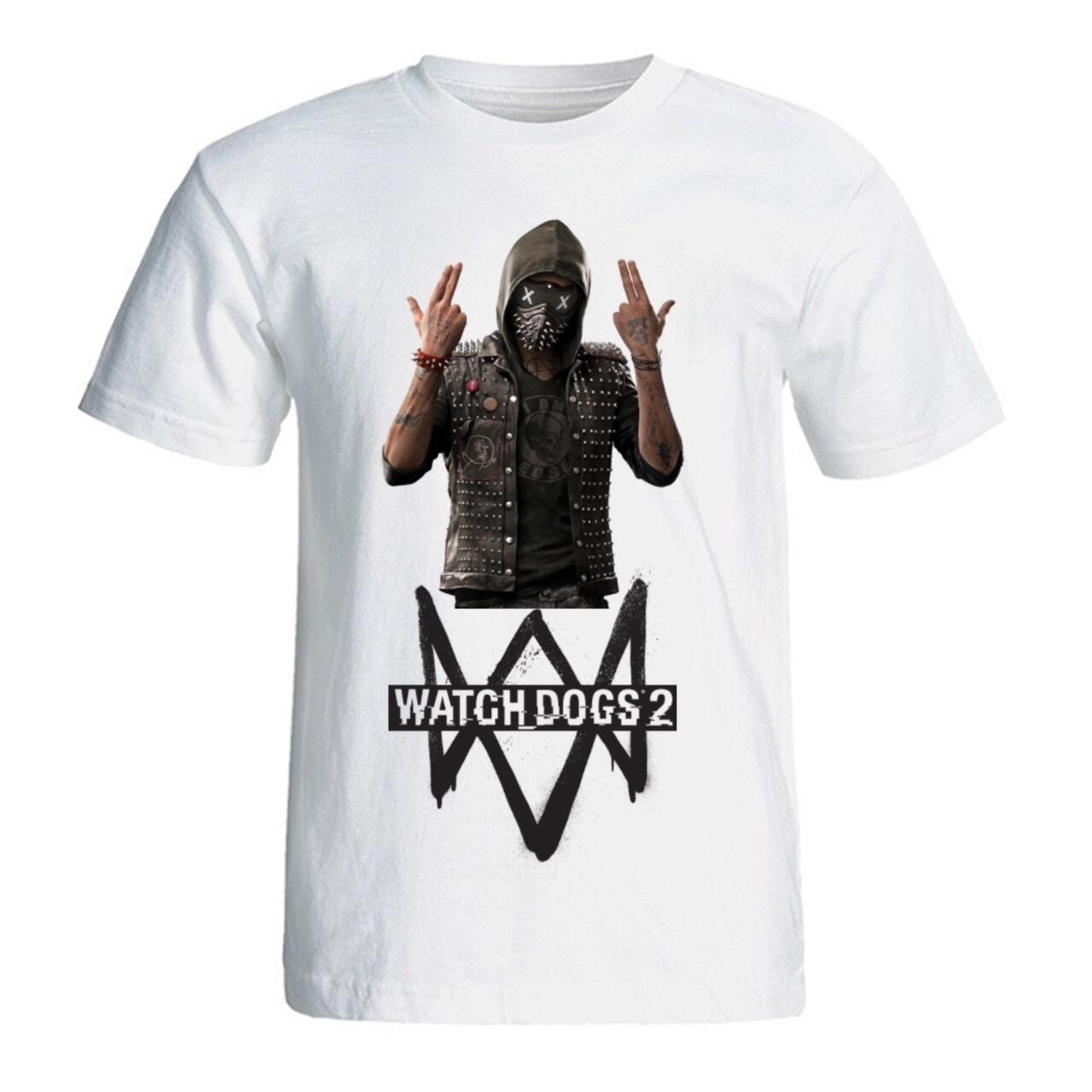 تی شرت مردانه طرح Watch Dogs 2 کد SA232