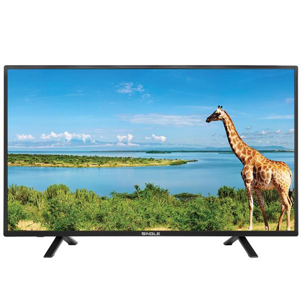 تلویزیون ال ای دی سینگل کد 4317 سایز 43 اینچ