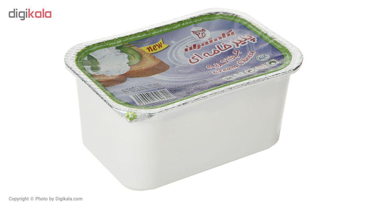 پنیر خامه ای پگاه مقدار 400 گرم main 1 1