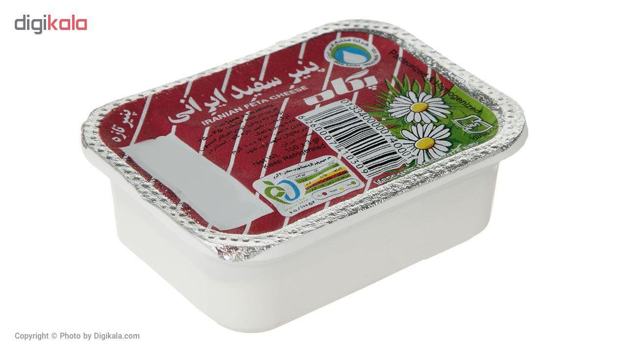 پنیر سفید ایرانی پگاه مقدار 100 گرم main 1 1