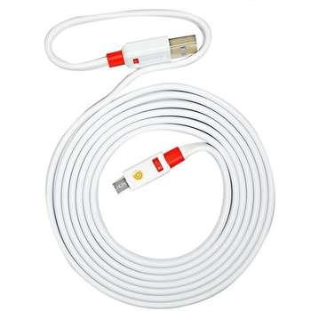 کابل تبدیل USB به microUSB گریفین مدل Premium طول 2 متر