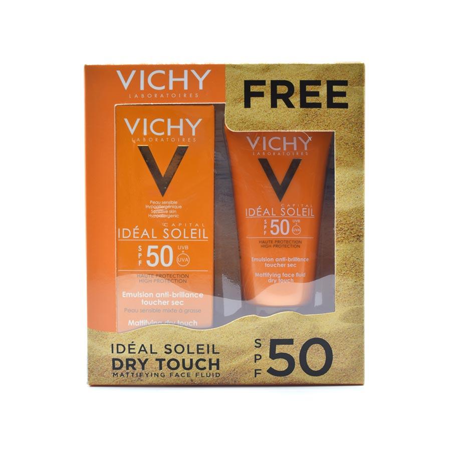 قیمت پک بهداشتی ویشی مدل 50 dry touch مجموعه 2 عددی