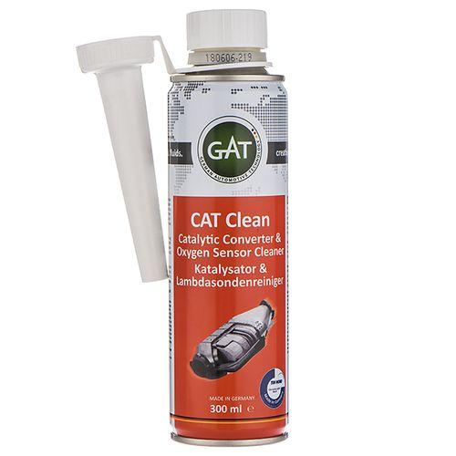 محلول تمیز کننده سنسور اکسیژن و  مبدل کاتالیزور خودرو گات مدل Cat Clean-620732 حجم 300 میلی لیتر