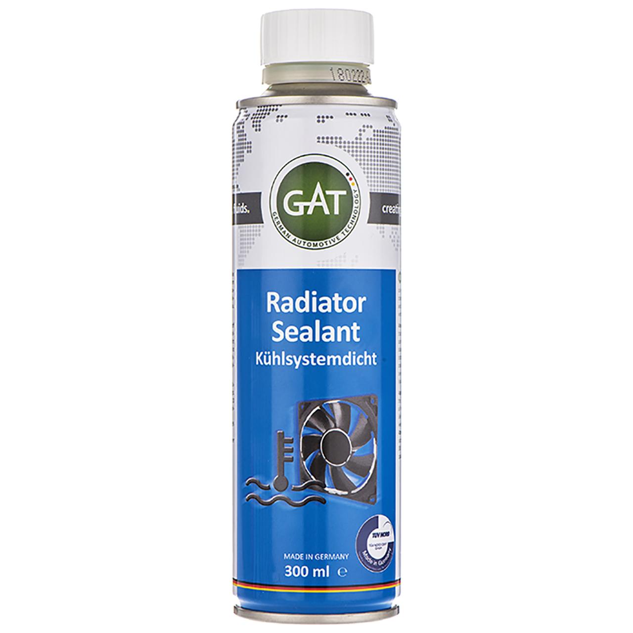 محلول نشتگیر رادیاتور خودرو گات مدل Radiator Sealant-62011 حجم 300 میلی لیتر
