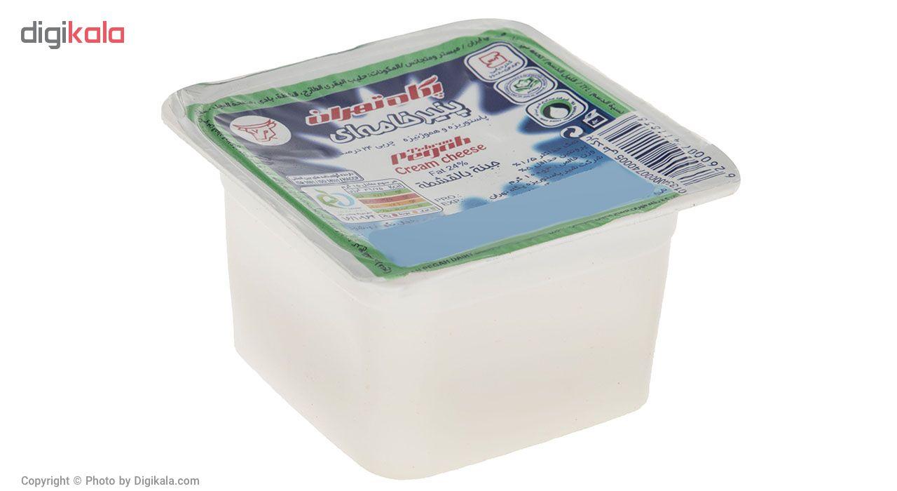 پنیر خامه ای پگاه مقدار 100 گرم