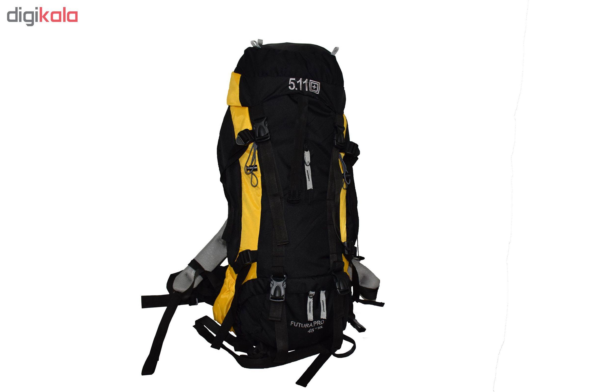 کوله پشتی کوهنوردی 55 لیتری 5.11 مدل AG3001 main 1 11