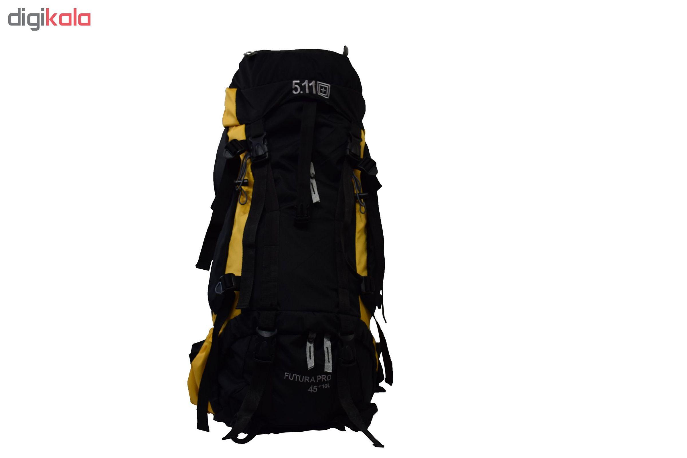 کوله پشتی کوهنوردی 55 لیتری 5.11 مدل AG3001 main 1 12