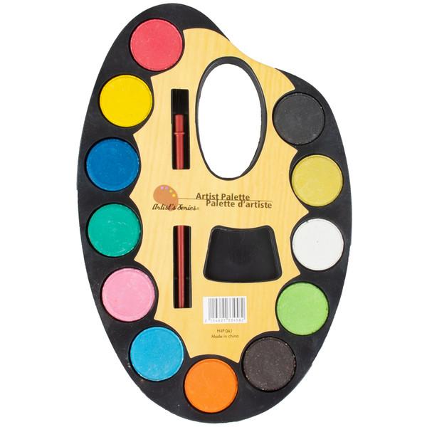 آبرنگ آرتیست پالت 12 رنگ مدل 141