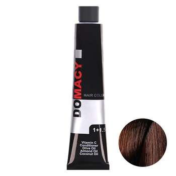 رنگ مو دوماسی سری بلوطی شماره 7.76 حجم 120 میلی لیتر رنگ بلوطی متوسط