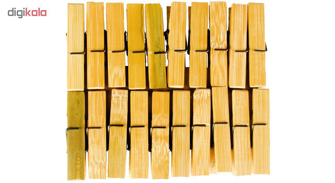 گیره لباس بامبو پگ کد 152 بسته 20 عددی main 1 1