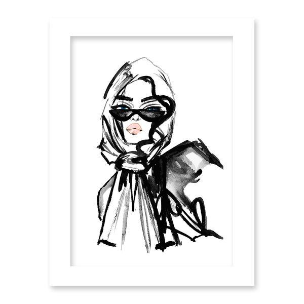 تابلو هیلما گالری کد HAP1756 WHITE