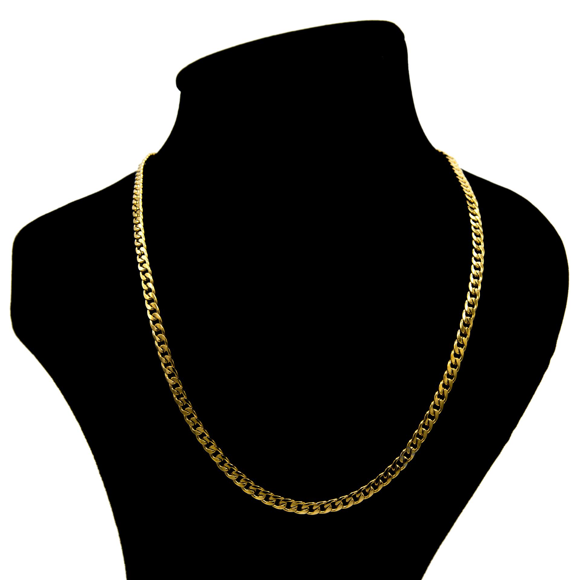 قیمت زنجیر بهارگالری مدل Golden Link Chain کد 60
