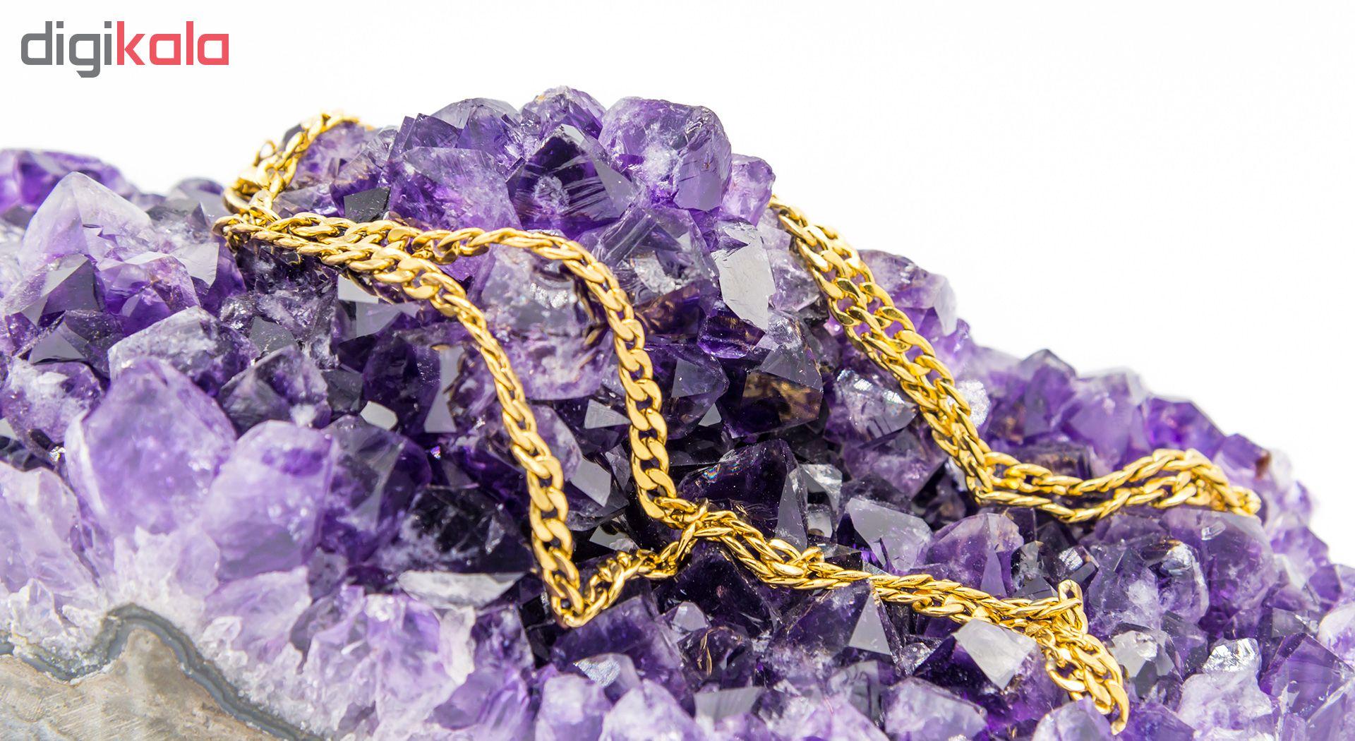 زنجیر بهارگالری مدل Golden Link Chain کد 60