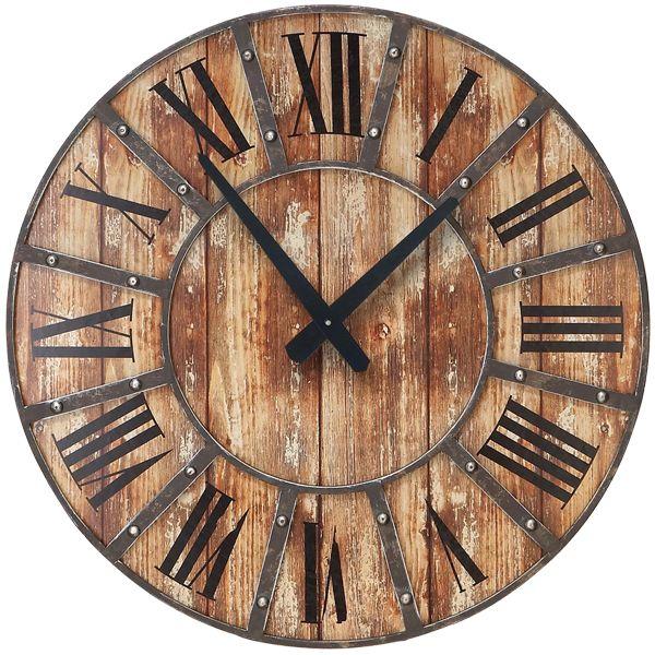 ساعت دیواری طرح آنتیک کد 355