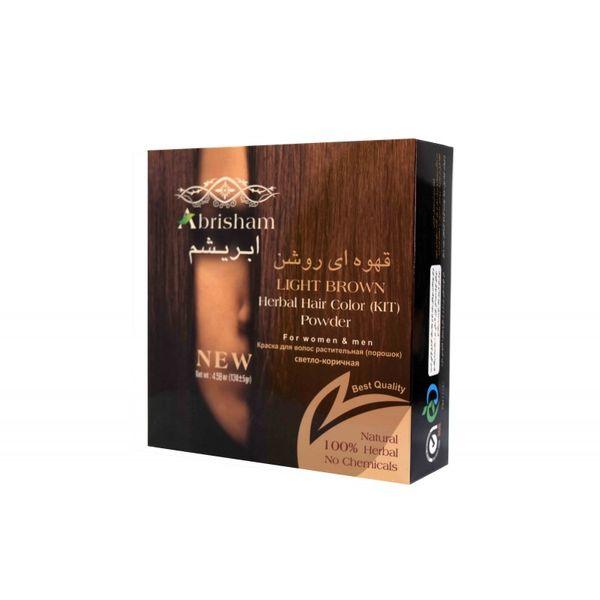 رنگ مو ابریشم سری Natural مقدار 130 گرم رنگ قهوه ای روشن