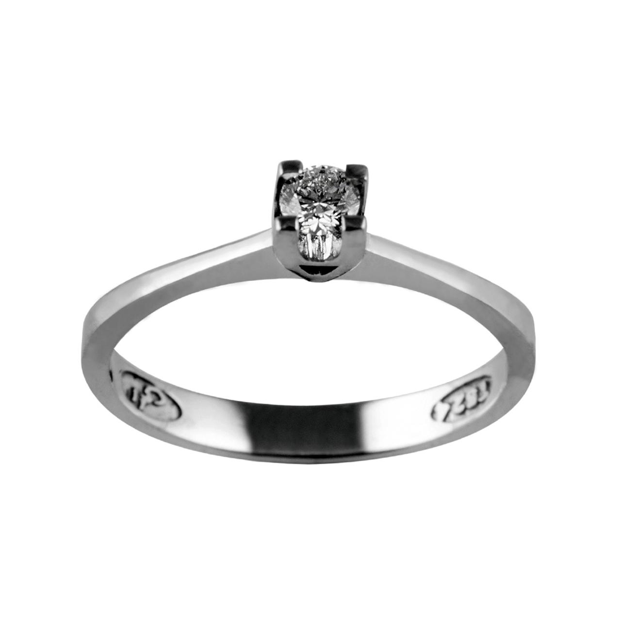 انگشتر طلا 18 عیار جواهری سون مدل 2057