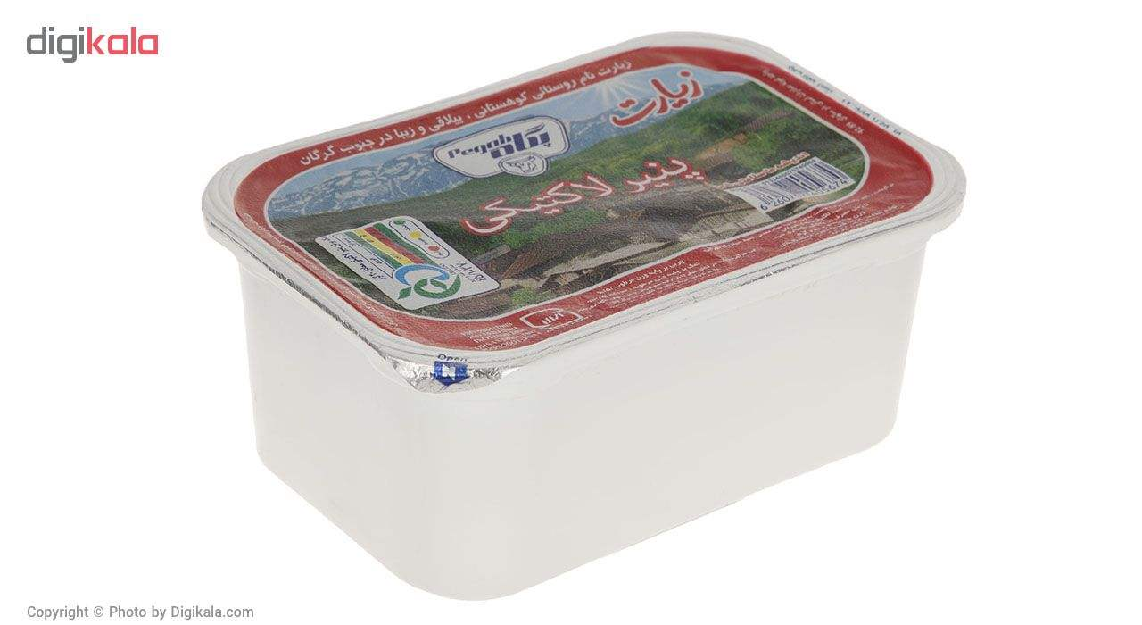 پنیر لاکتیکی زیارت پگاه مقدار 280 گرم main 1 1