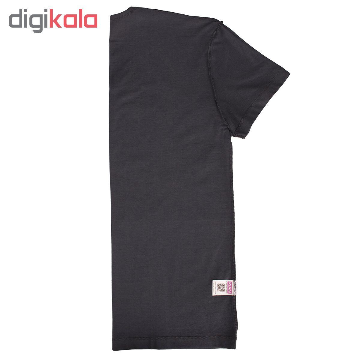 زیرپوش مردانه کیان تن پوش مدل U Neck Shirt Classic PE main 1 2