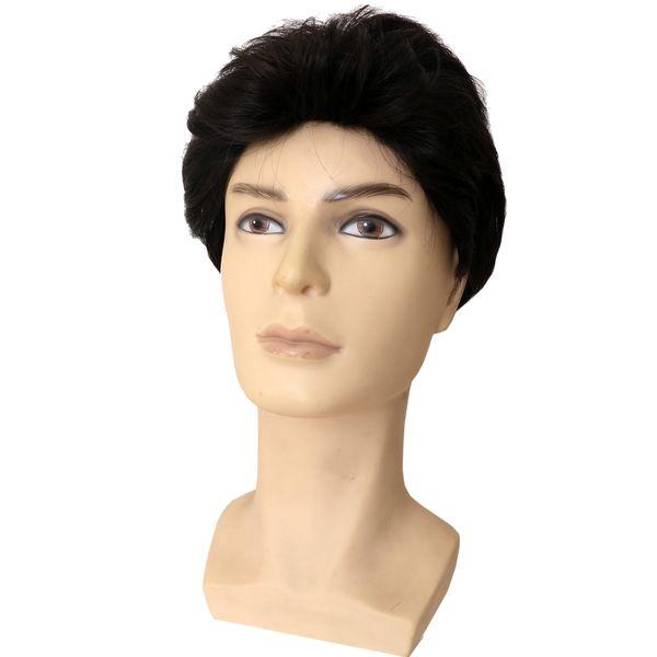 کلاه گیس مردانه حرارت پذیر کد sxno929-4