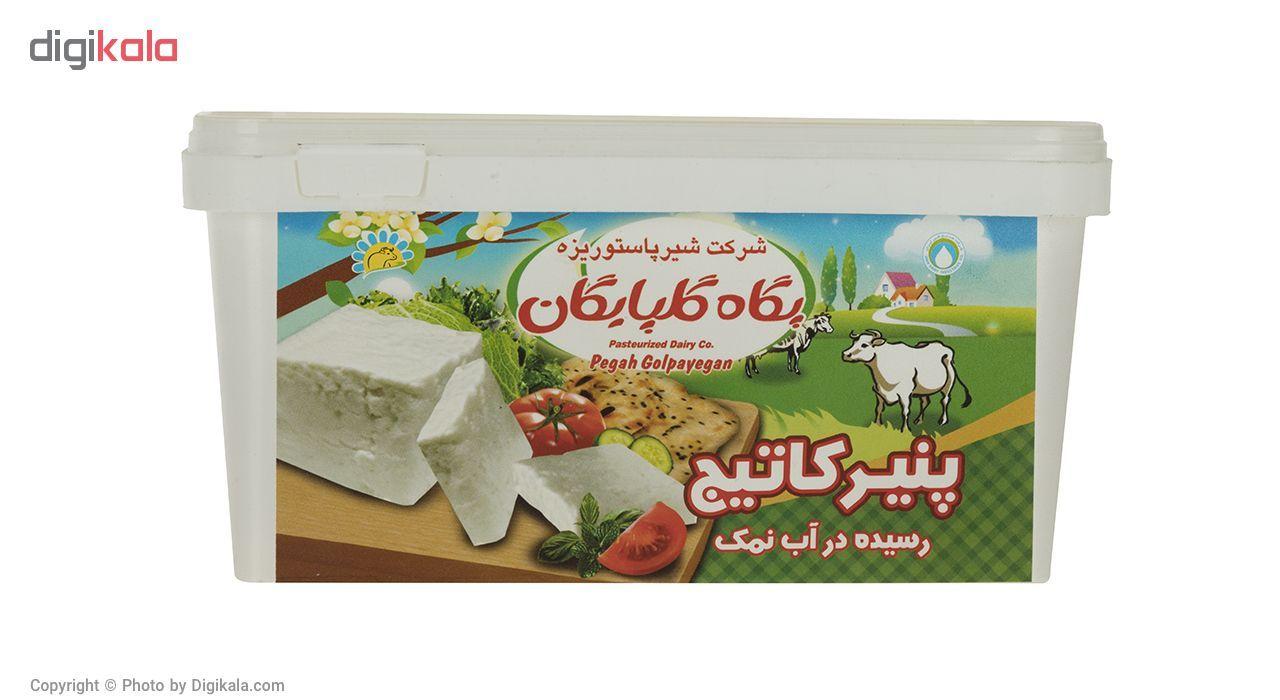 پنیر کاتیج رسیده در آب نمک پگاه مقدار 800 گرم main 1 2