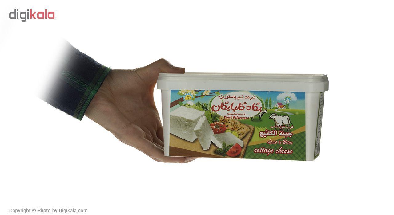 پنیر کاتیج رسیده در آب نمک پگاه مقدار 800 گرم main 1 3