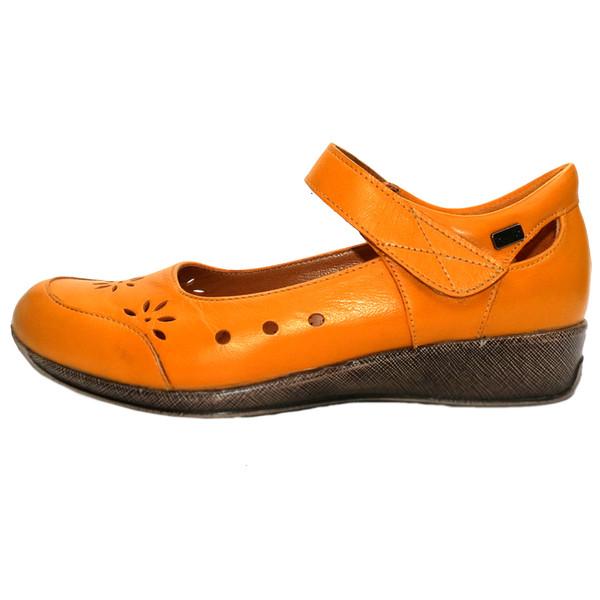 کفش روزمره زنانه آر اند دبلیو مدل 524 رنگ پرتقالی