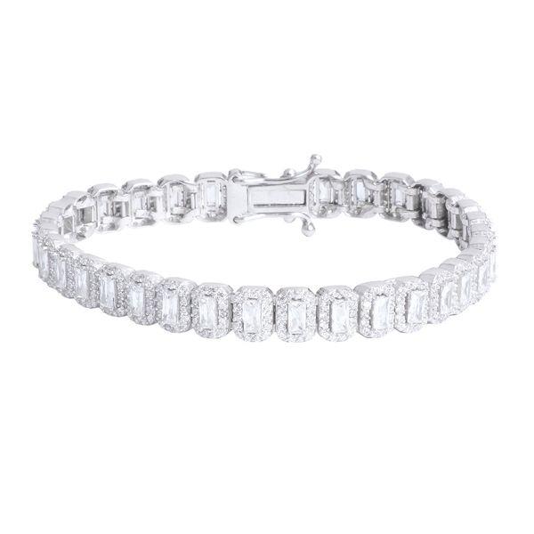 دستبند نقره زنانه جی تی آ مدل 225
