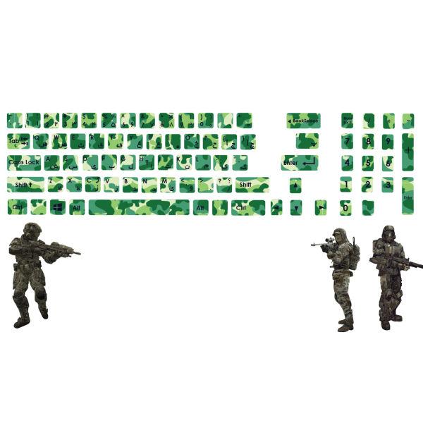 استیکر کیبورد صالسو آرت طرح keyboard m73 hk