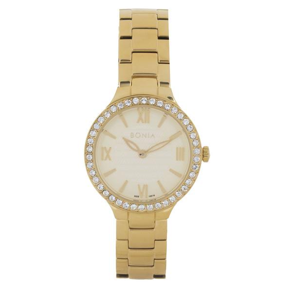 ساعت مچی عقربه ای زنانه بونیا مدل BNB10216-2223S