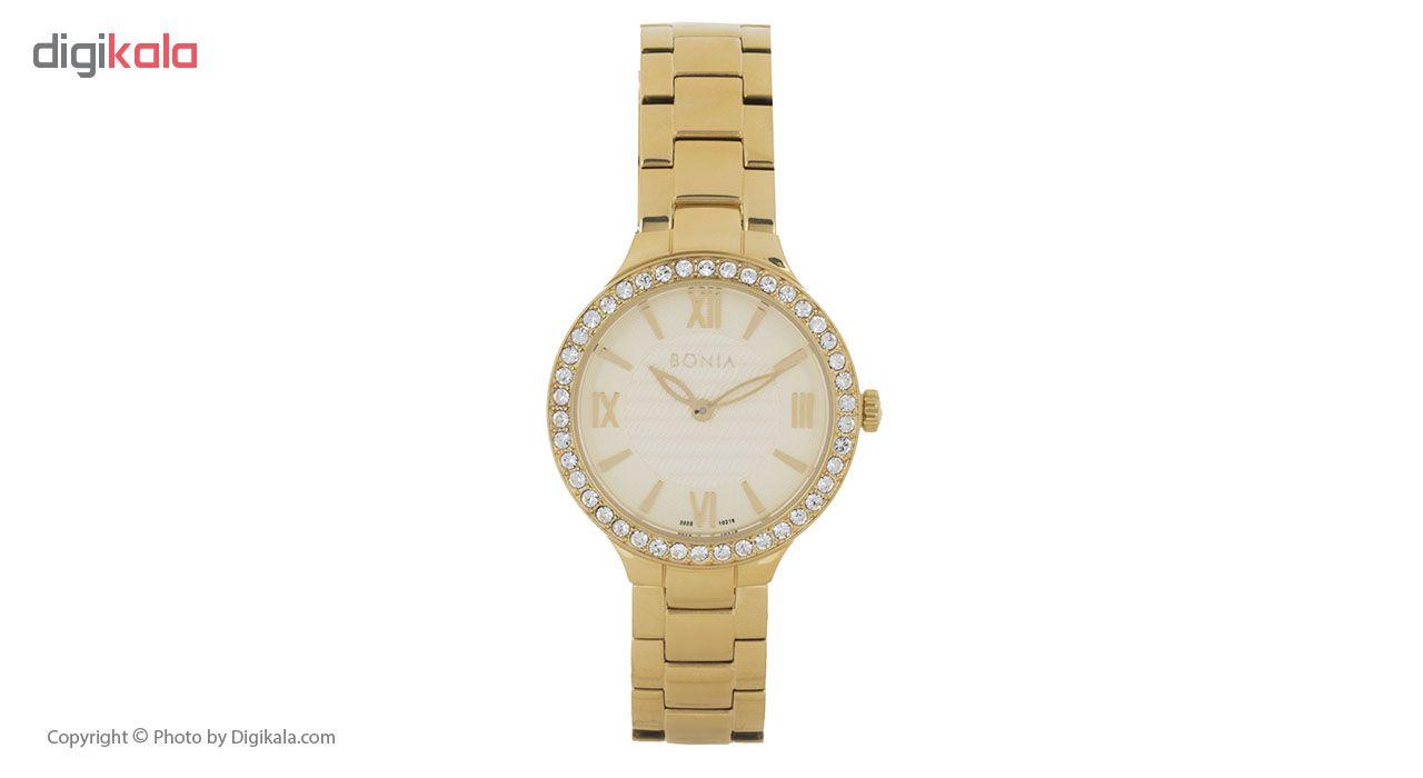 ساعت مچی  زنانه بونیا مدل BNB10216-2223S