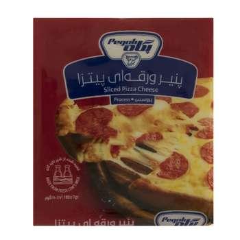 پنیر پیتزا ورقه ای پگاه مقدار 180 گرم