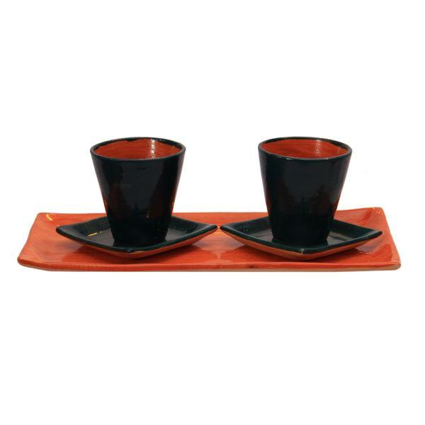 ست چای خوری سفالی کد 20290