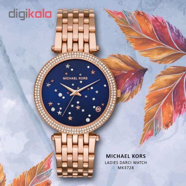 ساعت مچی عقربه ای زنانه مایکل کورس مدل mk3728              ارزان