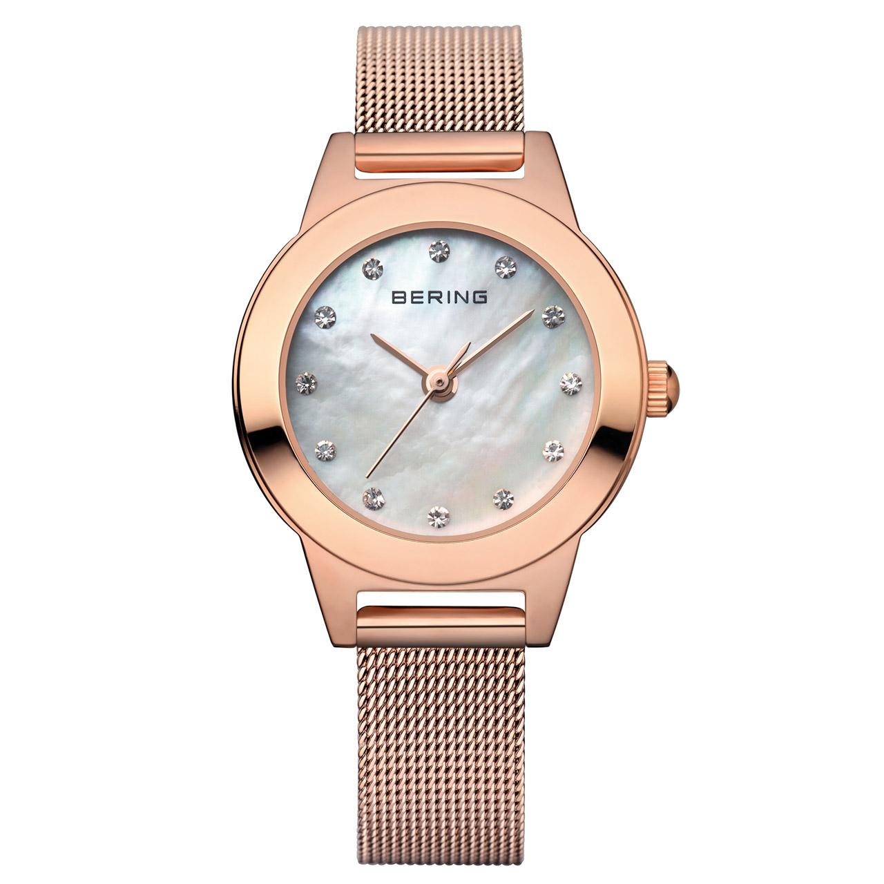 ساعت مچی عقربه ای زنانه برینگ مدل b11125-366