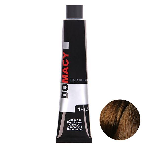 رنگ مو دوماسی سری شکلاتی شماره 5.7 حجم 120 میلی لیتر رنگ بلوند شکلاتی روشن