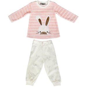 ست بلوز و شلوار بچگانه بیبی لند طرح خرگوشی کد 209