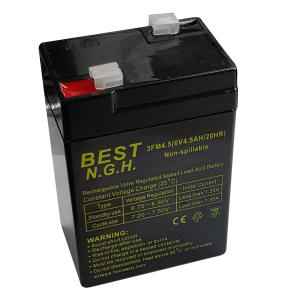 باتری 6 ولت 4.5 آمپر ساعت بست ان جی اچ مدل 6V4.5AH/20HR