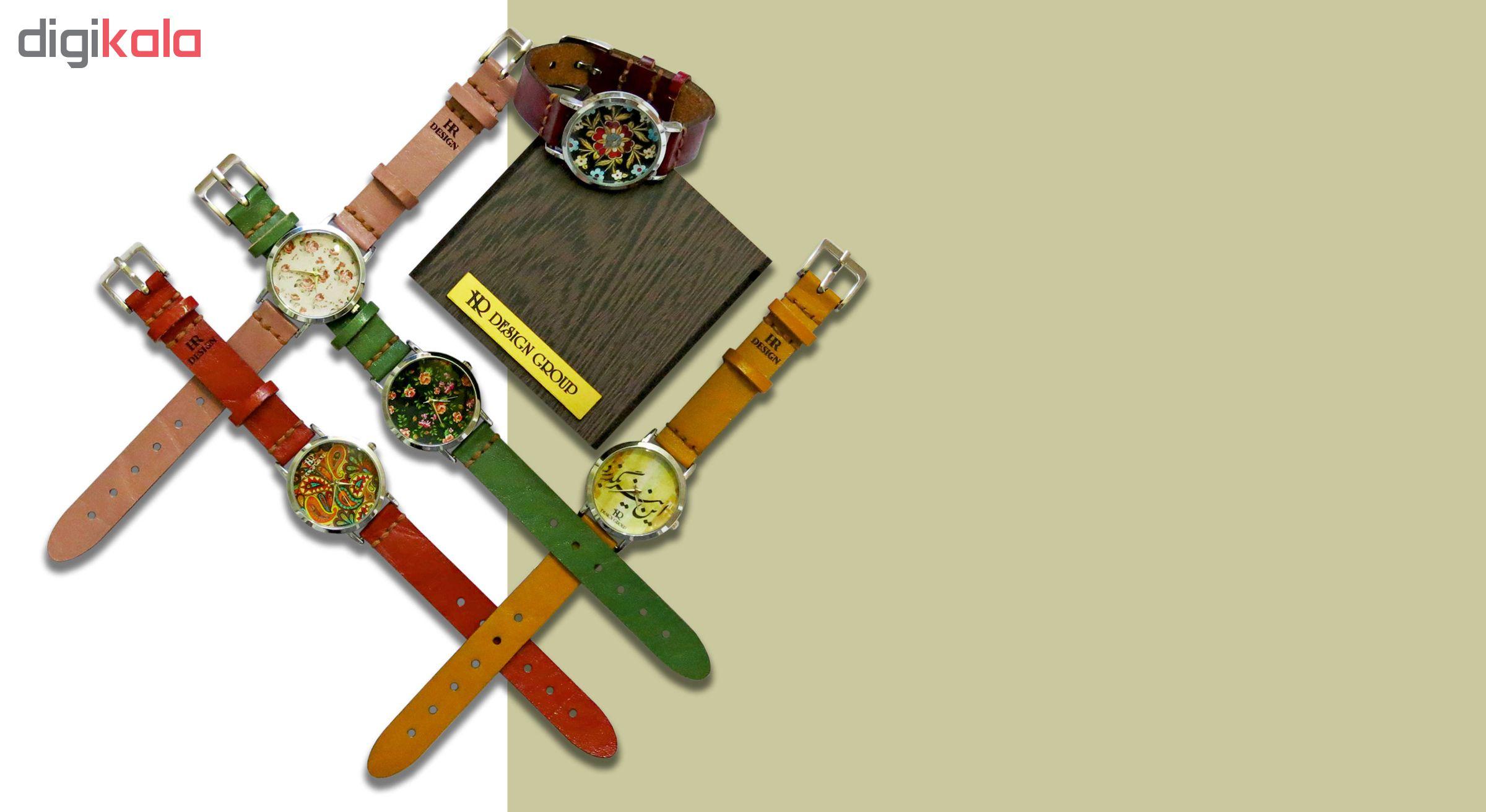 ساعت مچی عقربه ای زنانه اچ آر دیزاین گروپ مدل 018