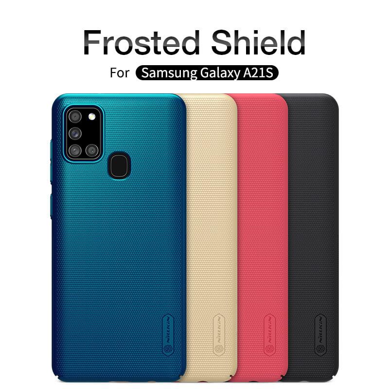کاور نیلکین مدل Super Frosted Shield مناسب برای گوشی موبایل سامسونگ Galaxy A21s main 1 6
