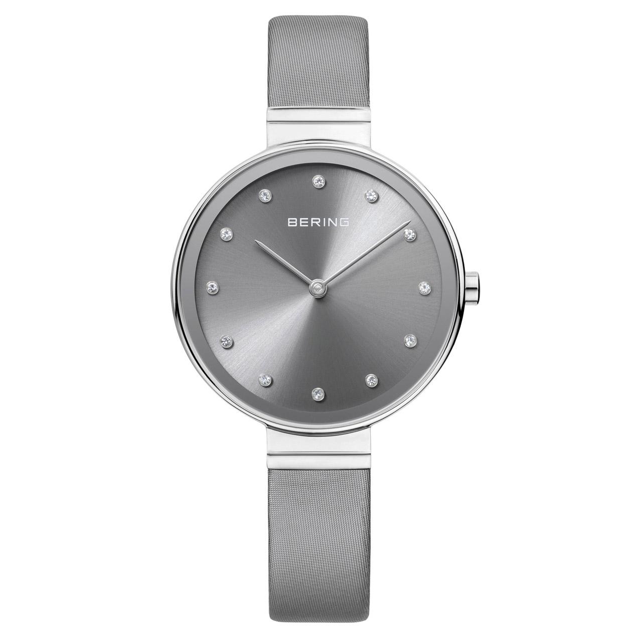 ساعت مچی عقربه ای زنانه برینگ مدل b12034-609 15