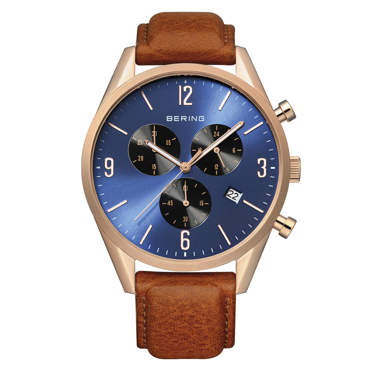 ساعت مچی عقربه ای مردانه  برینگ مدل b10542-467