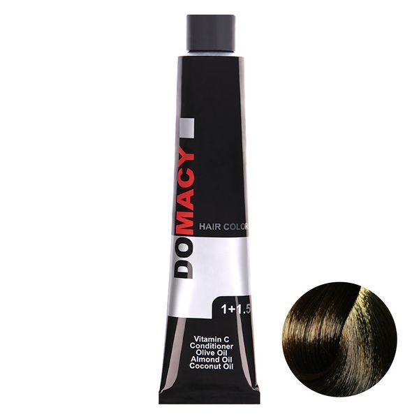 رنگ مو دوماسی سری طبیعی شماره 6.00 حجم 120 میلی لیتر رنگ بلوند تیره