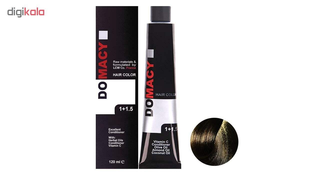 رنگ مو دوماسی سری طبیعی شماره 6.00 حجم 120 میلی لیتر رنگ بلوند تیره main 1 1