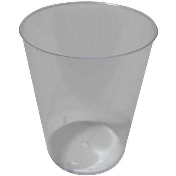 لیوان یکبار مصرف روشا پلاست کد 25 مدل Crystal بسته 50 عددی